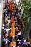 Azja michaelita na Buddha urodzinowym świętowaniu Obrazy Stock
