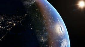 Azja przy nocą ilustracji