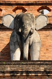 Azja słonia statua Tajlandia Zdjęcia Stock