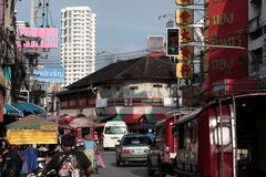 AZJA TAJLANDIA CHIANG MAI rynek Obrazy Stock