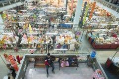 AZJA TAJLANDIA CHIANG MAI TALAT WAROROT rynek Zdjęcia Stock