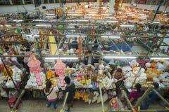 AZJA TAJLANDIA CHIANG MAI TALAT WAROROT rynek Obraz Royalty Free