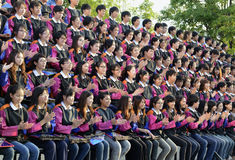 AZJA TAJLANDIA CHIANG MAI WAT PHAN TAO Obrazy Royalty Free