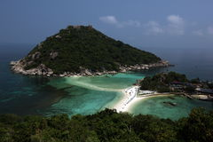 AZJA TAJLANDIA KO TAO wyspa KO NANG JUAN Zdjęcie Stock