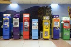 AZJA TAJLANDIA PHUKET banka pieniądze ATM obraz stock