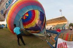 Azja Tajlandia pod balonem Fotografia Royalty Free