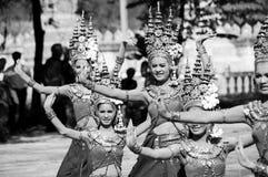Azja taniec zdjęcie stock