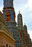Azja w Bangkok deszczu świątyni i kolor religii Zdjęcia Royalty Free
