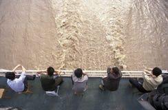 AZJA YANGZI PORCELANOWA rzeka Zdjęcia Stock