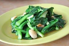 azjaci smażone warzywa Obraz Royalty Free