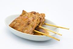Azjata BBQ grilla stylowa wieprzowina obrazy stock