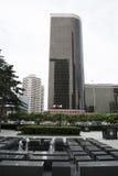 Azjata Chiny, Pekin, CBD Środkowa dzielnica biznesu nowożytna architektura, piętrowi budynki Obrazy Royalty Free