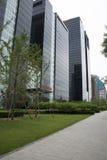 Azjata Chiny, Pekin, CBD Środkowa dzielnica biznesu nowożytna architektura, piętrowi budynki Obrazy Stock