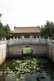 Azjata Chiny, Pekin lato pałac, Pai yun dian Zdjęcie Stock