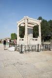 Azjata Chiny, Pekin, Lugou most, miejsca historyczny interes i sceniczny piękno, Zdjęcie Royalty Free