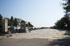 Azjata Chiny, Pekin, Lugou most, miejsca historyczny interes i sceniczny piękno, Fotografia Stock