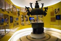 Azjata Chiny, Pekin, Porcelanowego obywatela filmu Museumï ¼ ŒIndoor powystawowa sala, Obraz Royalty Free