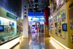 Azjata Chiny, Pekin, Porcelanowego obywatela filmu Museumï ¼ ŒIndoor powystawowa sala, Zdjęcia Royalty Free