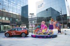 Azjata Chiny, Pekin, Taikoo Li Sanlitun, otwiera zakupy okręgu Obrazy Royalty Free