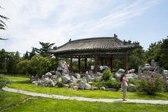 Azjata Chiny, Pekin, Tiantan, bicyclic Wanshou pawilon Fotografia Royalty Free