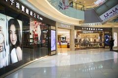 Azjata Chiny, Pekin, Wangfujing, APM centrum handlowe, wewnętrznego projekta sklep, Obrazy Stock