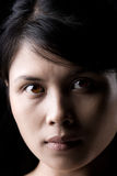 azjata kobieta zamknięta Zdjęcia Stock