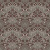 Azjata, kwiat jak bezszwowy wzór ilustracja wektor