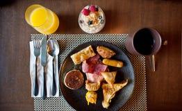 azjata śniadanie Zdjęcie Royalty Free