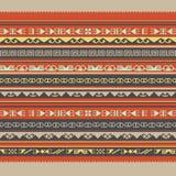 Azjata ornamentuje bezszwowego Zdjęcia Stock