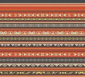 Azjata ornamentuje bezszwowego Zdjęcie Stock