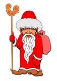 Azjata Santa royalty ilustracja