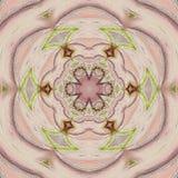 Azjata stylu oferty arabesk w różowej kwiecistej płytce Zdjęcie Royalty Free