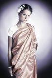 azjata ubrań smokingowa indyjska krajowa kobieta zdjęcie stock
