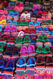Azjatyccy buty Zdjęcia Stock