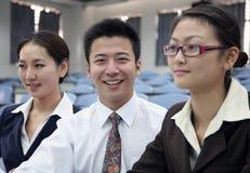 Azjatyccy ludzie biznesu Zdjęcia Royalty Free