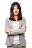 Azjatycka biznesowa dama zdjęcia stock