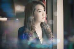 Azjatycka biznesowa dziewczyna Obrazy Stock