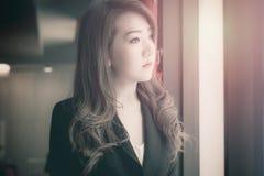 Azjatycka biznesowa dziewczyna Obraz Stock