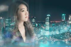 Azjatycka biznesowa dziewczyna Fotografia Stock