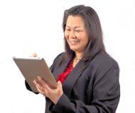 Azjatycka biznesowa kobieta   Zdjęcia Stock