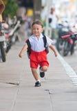 Azjatycka chłopiec Zdjęcia Royalty Free