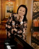 Azjatycka dama obrazy royalty free