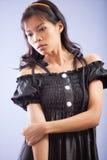 Azjatycka dziewczyna pozująca Obrazy Royalty Free