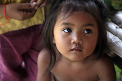 Azjatycka dziewczynka Obrazy Royalty Free
