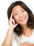 Azjatycka kobieta Fotografia Royalty Free