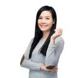 Azjatycka kobieta zdjęcia stock