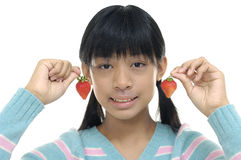 Azjatycka młoda dziewczyna zdjęcie royalty free