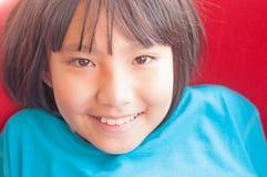 Azjatycka mała dziewczynka Obrazy Stock