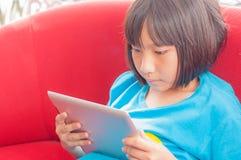 Azjatycka mała dziewczynka Zdjęcie Stock