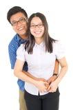 Azjatycka Para zdjęcie stock